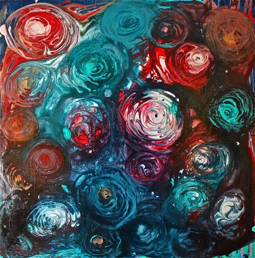 """Gray Jacobik's """"Blue Roses"""""""