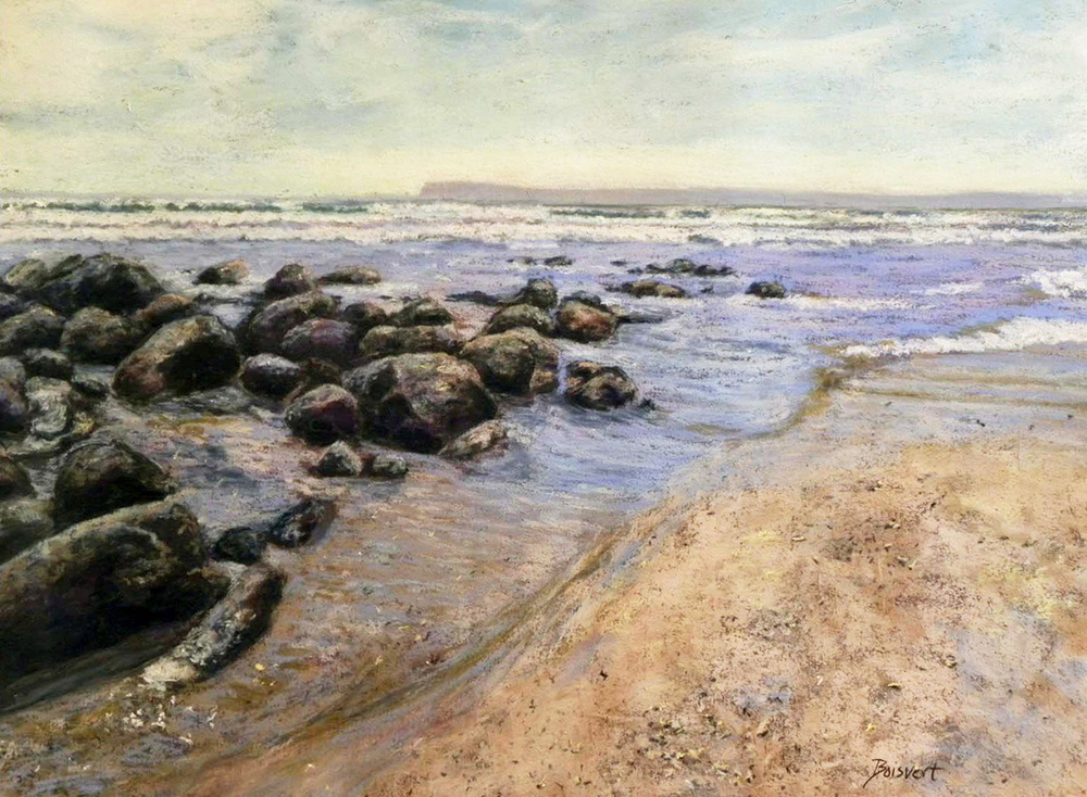 "Linda Boisvert DeStefanis' ""Breath of Ocean"""