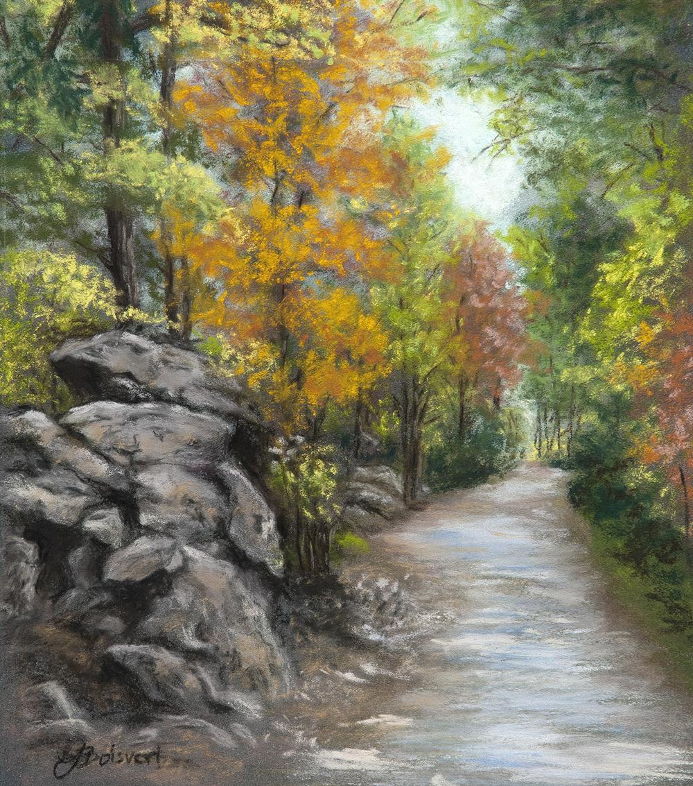 """Linda Boisvert DeStefanis' """"Woodland Path"""""""