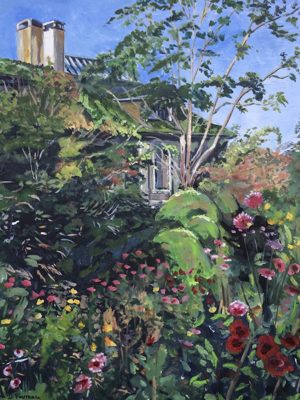 """Donna Dubreuil Favreau's """"Harkness Blooms"""""""
