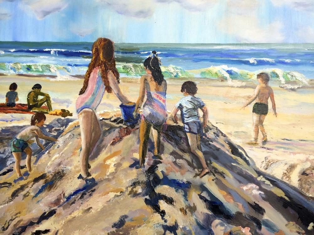"Donna Dubreuil Favreau's ""Mountain of Sand"""