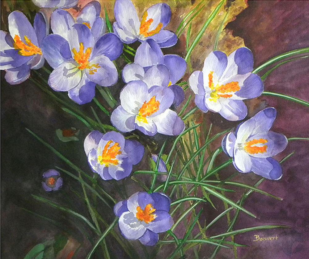 """Linda Boisvert DeStefanis' """"Spring Awakening"""""""