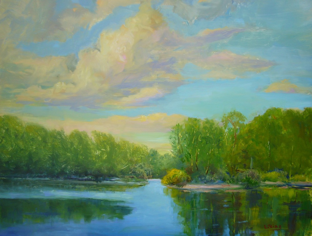 "Linda Lilling's ""Afternoon on Falls River"""