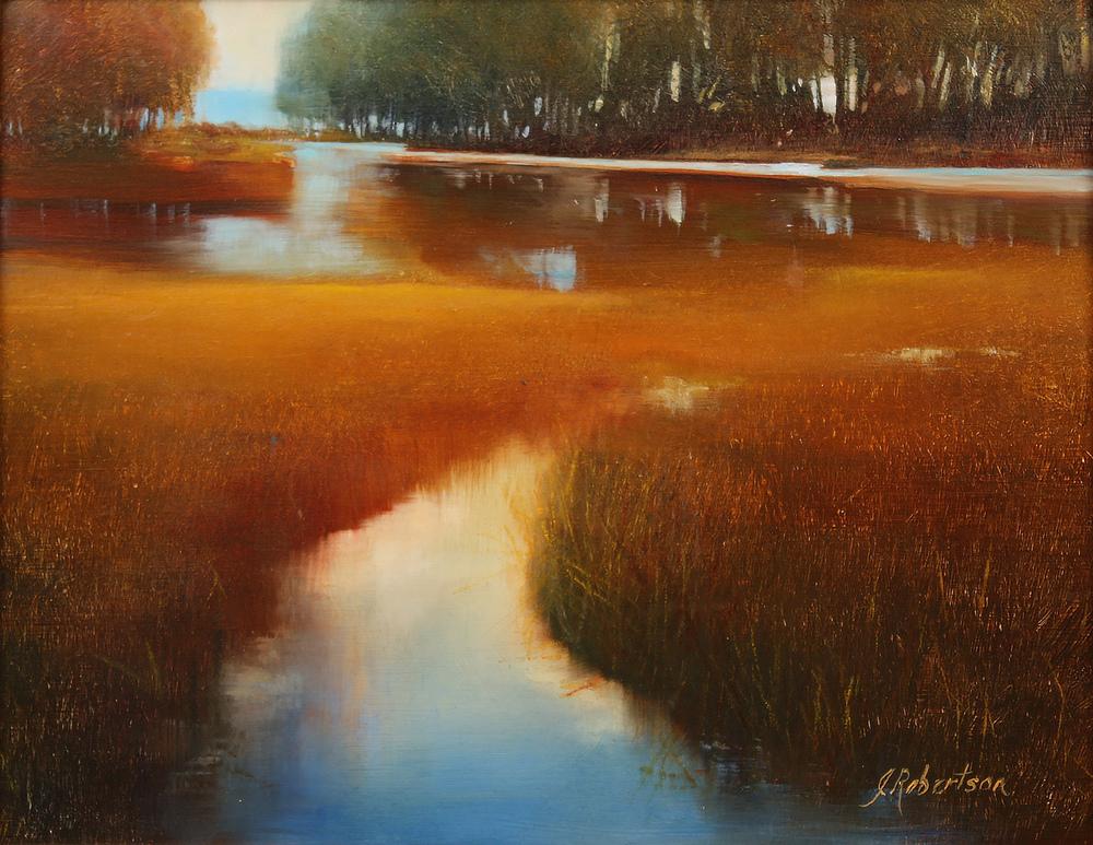 "Janine Robertson's ""Golden Hour Study"""