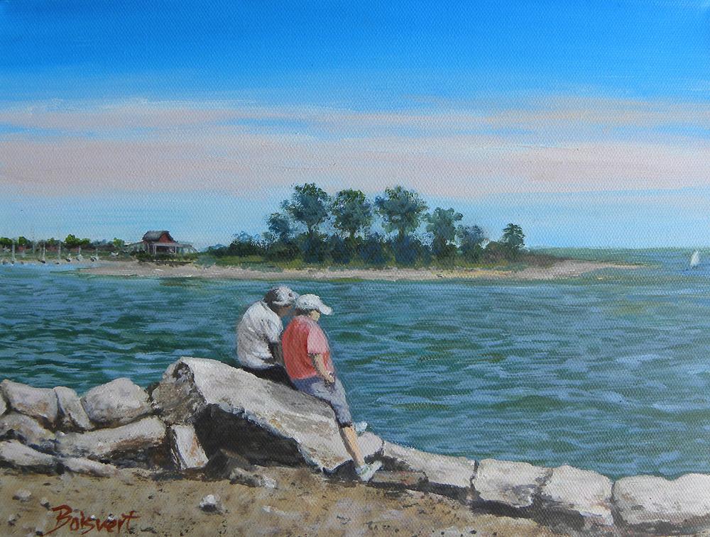 "Linda Boisvert DeStefanis' ""Sea Breeze"""