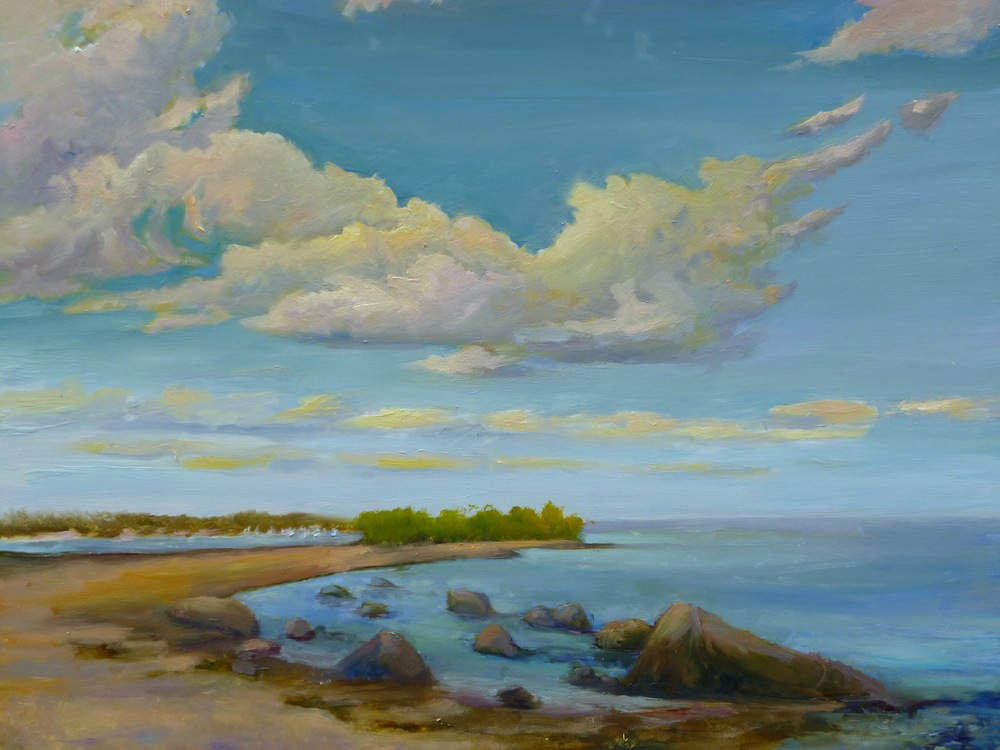 "Linda Lilling's ""Afternoon at Hammonasset"""