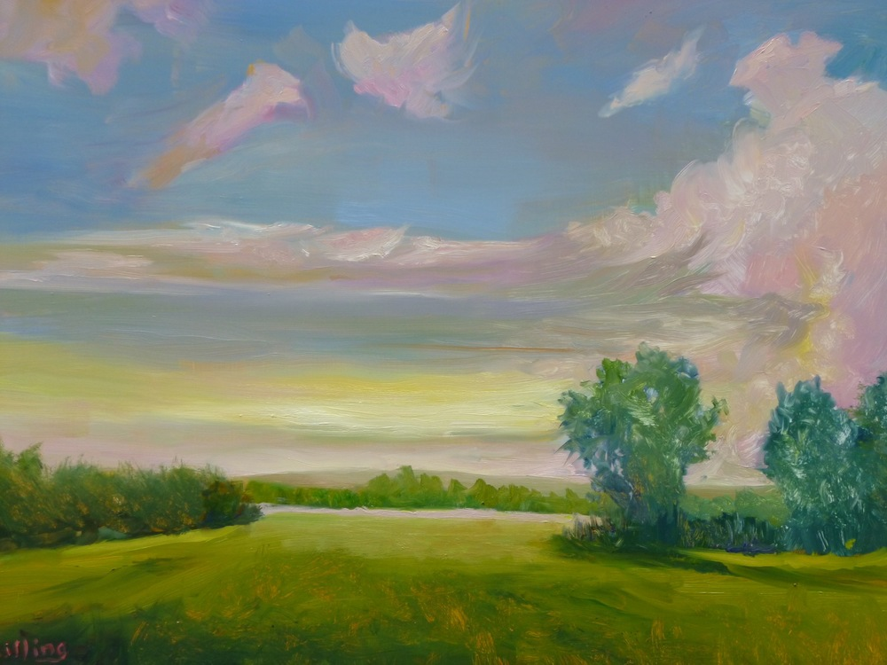 "Linda Lilling ""Clouds Over Meadow"""
