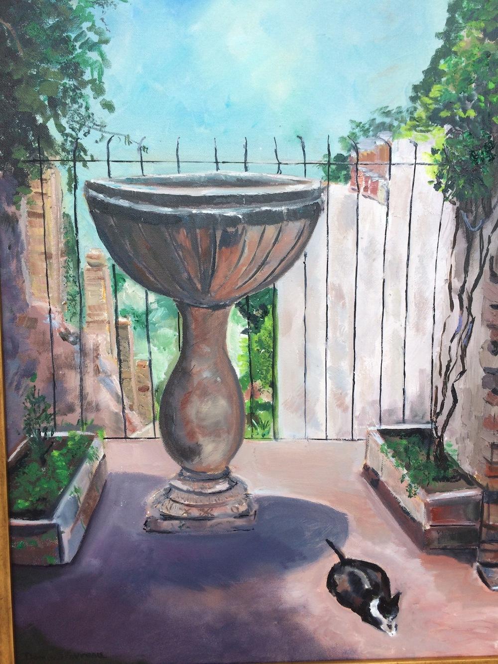 "Donna Dubreuil Favreau's ""A Quiet Place, Taormina"""