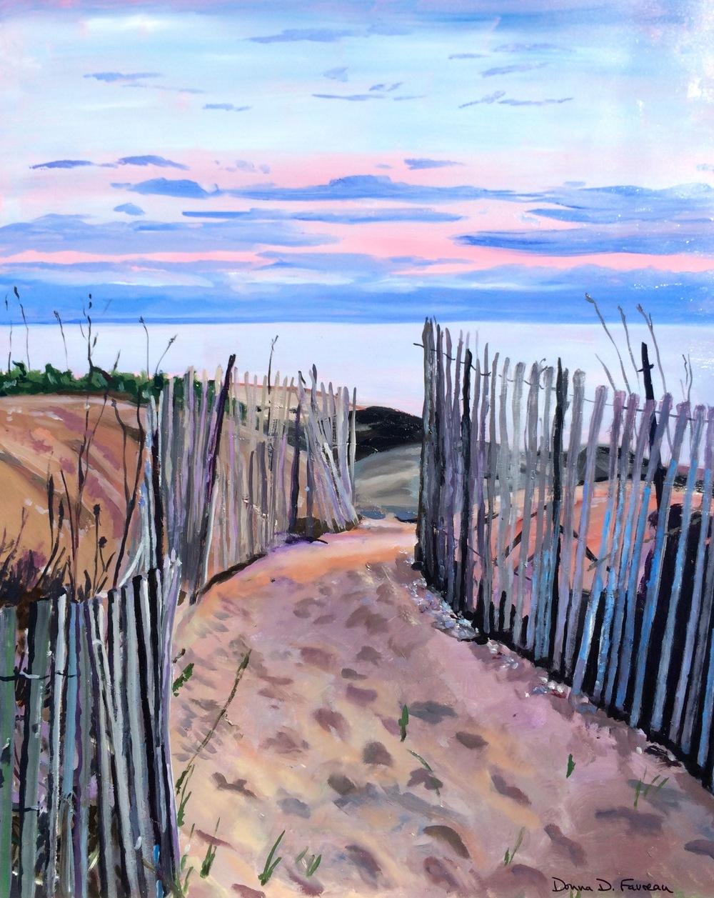 """Donna Dubreuil Favreau's """"End of Summer"""""""