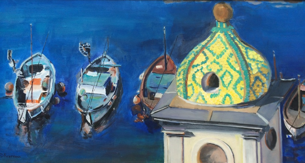 "Donna Dubreuil Favreau's ""Peaceful Harbor"""