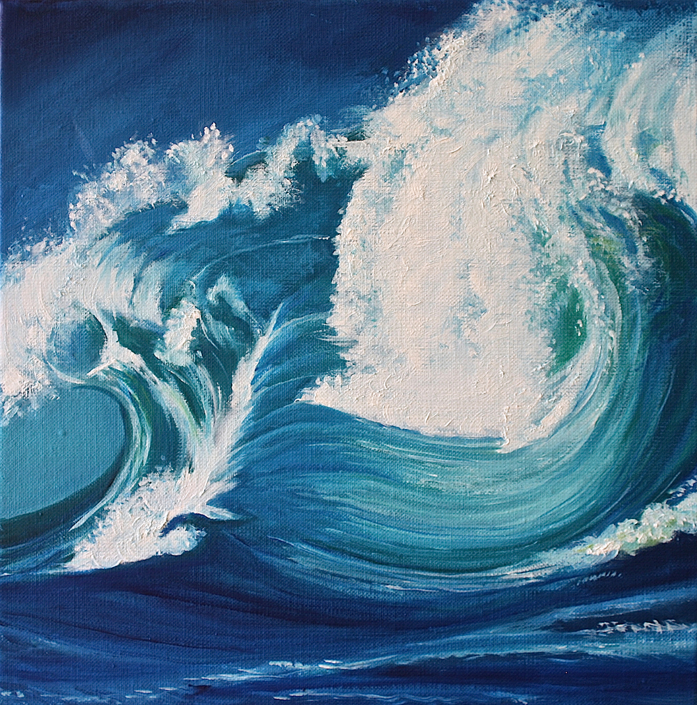 "Gray Jacobik's ""Wave Upon Wave Upon Wave"""