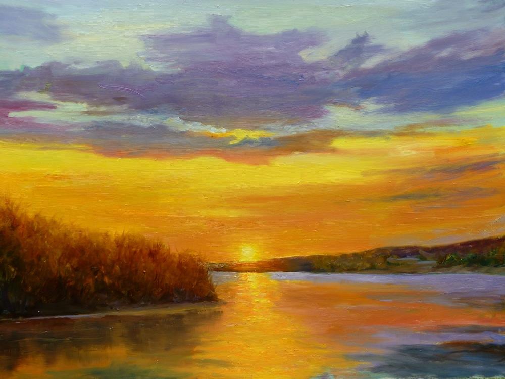 "Linda Lilling's ""Sunset Glow"""