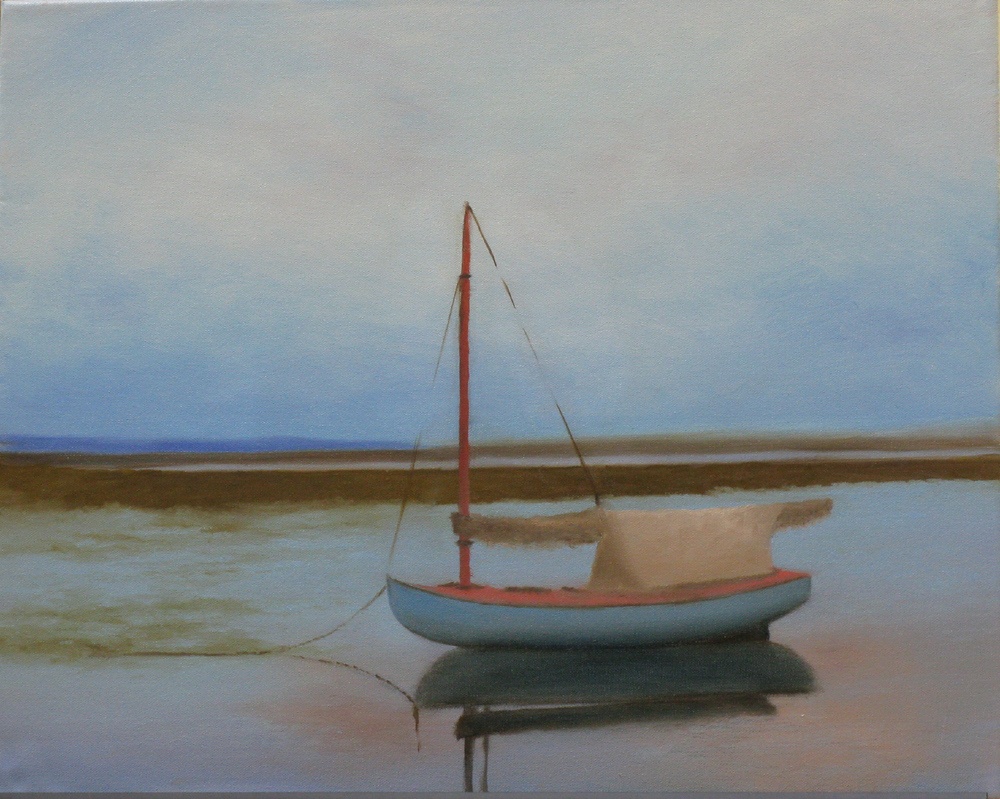 """Elba Borges's """"Moored"""""""