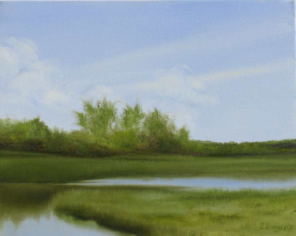 "Elba Borges's ""Slat Marsh"""