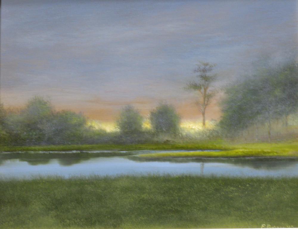 "Elba Borges ""Glowing Sunset"""