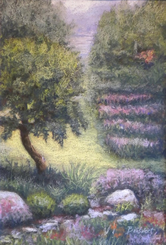 "Linda Boisvert DeStefanis' ""View to the Lake"""