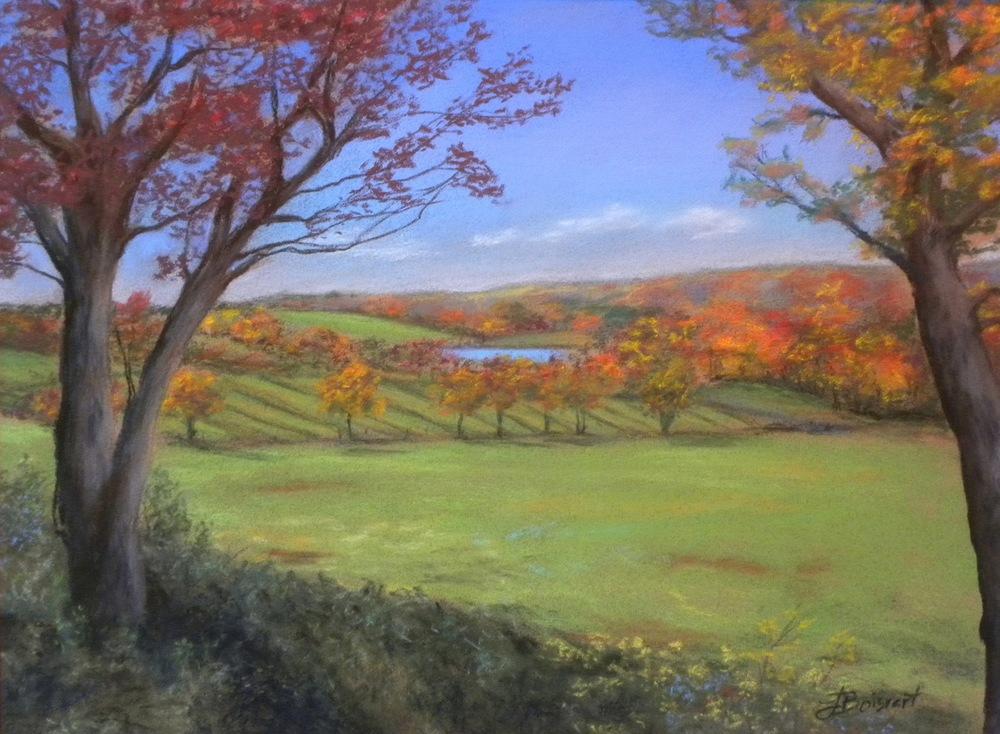 "Linda Boisvert DeStefanis' ""Litchfield Hills 2"""