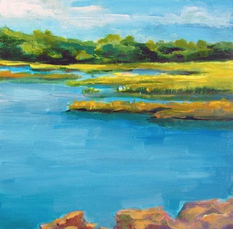 "Ishita Bandyo's ""Guilford Marsh"""