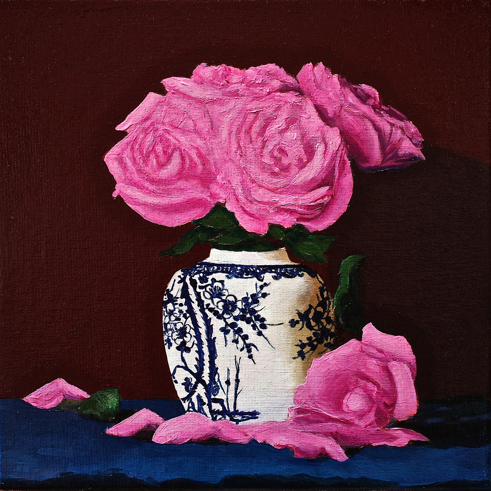 "Gray Jacobik's ""Fifth Rose Just Fell Apart"""
