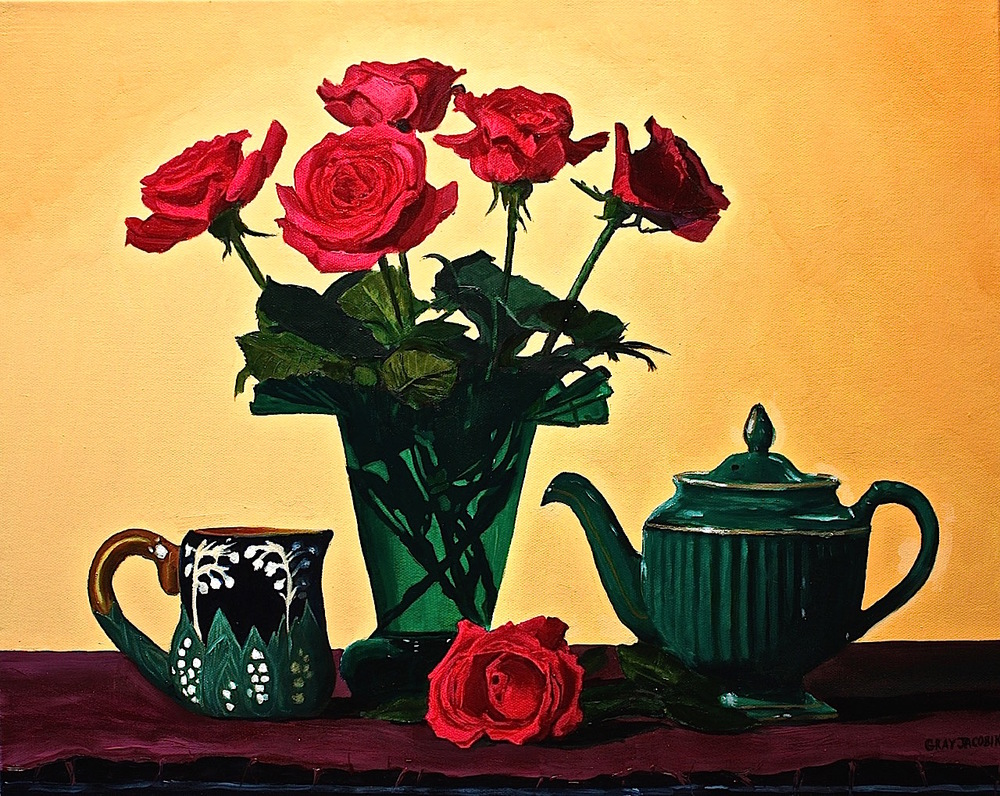 "Gray Jacobik's ""Tea Roses"""