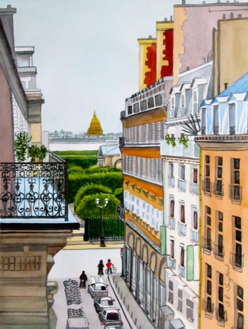 "BL Taylor's ""Rue Cambon, Paris"""