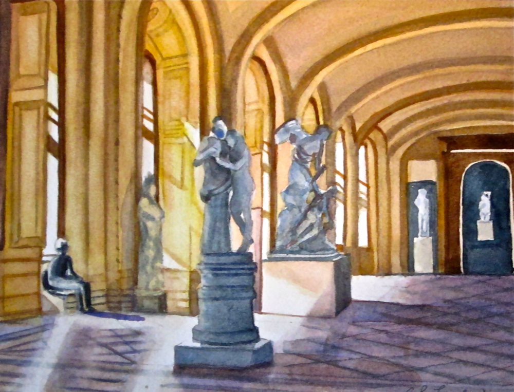 "BL Taylor's ""Sculpture in the Louvre"""