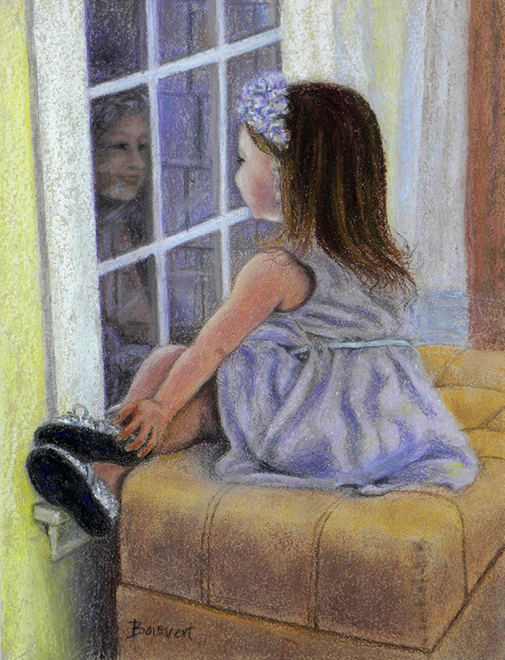 """Linda Boisvert-DeStefanis's """"Anticipation"""""""