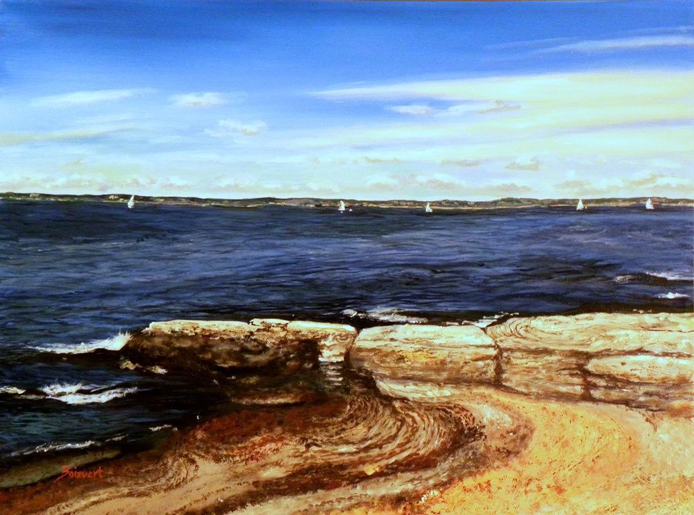 """Linda Boisvert DeStefanis' """"Harbor Breezes"""""""