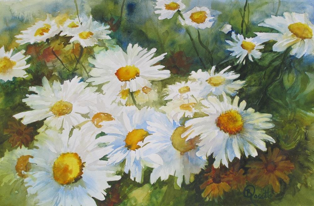 """B. Rossitto's """"Sunlit Daisies"""""""