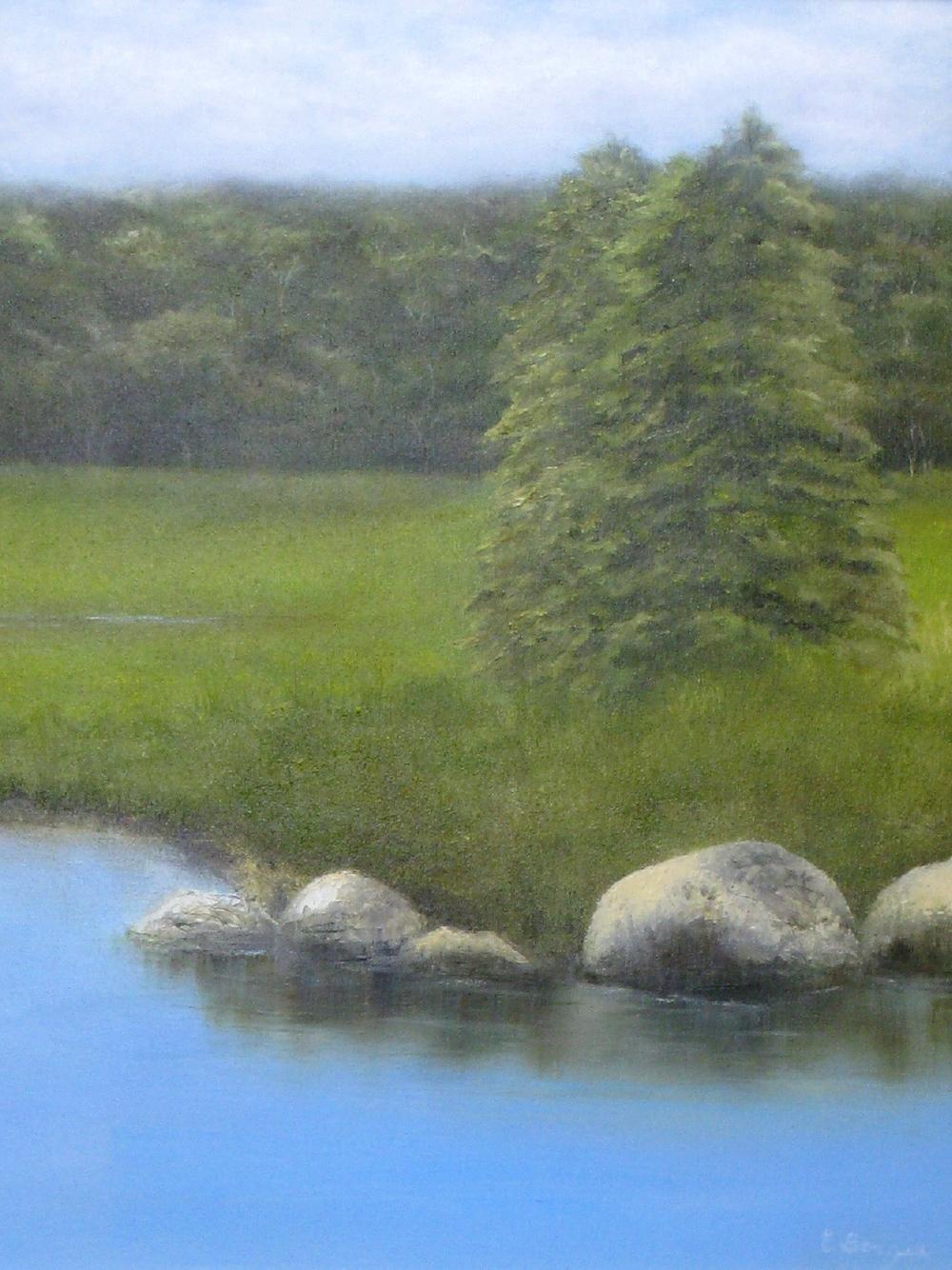 """Elba Borges """"Two Trees"""""""