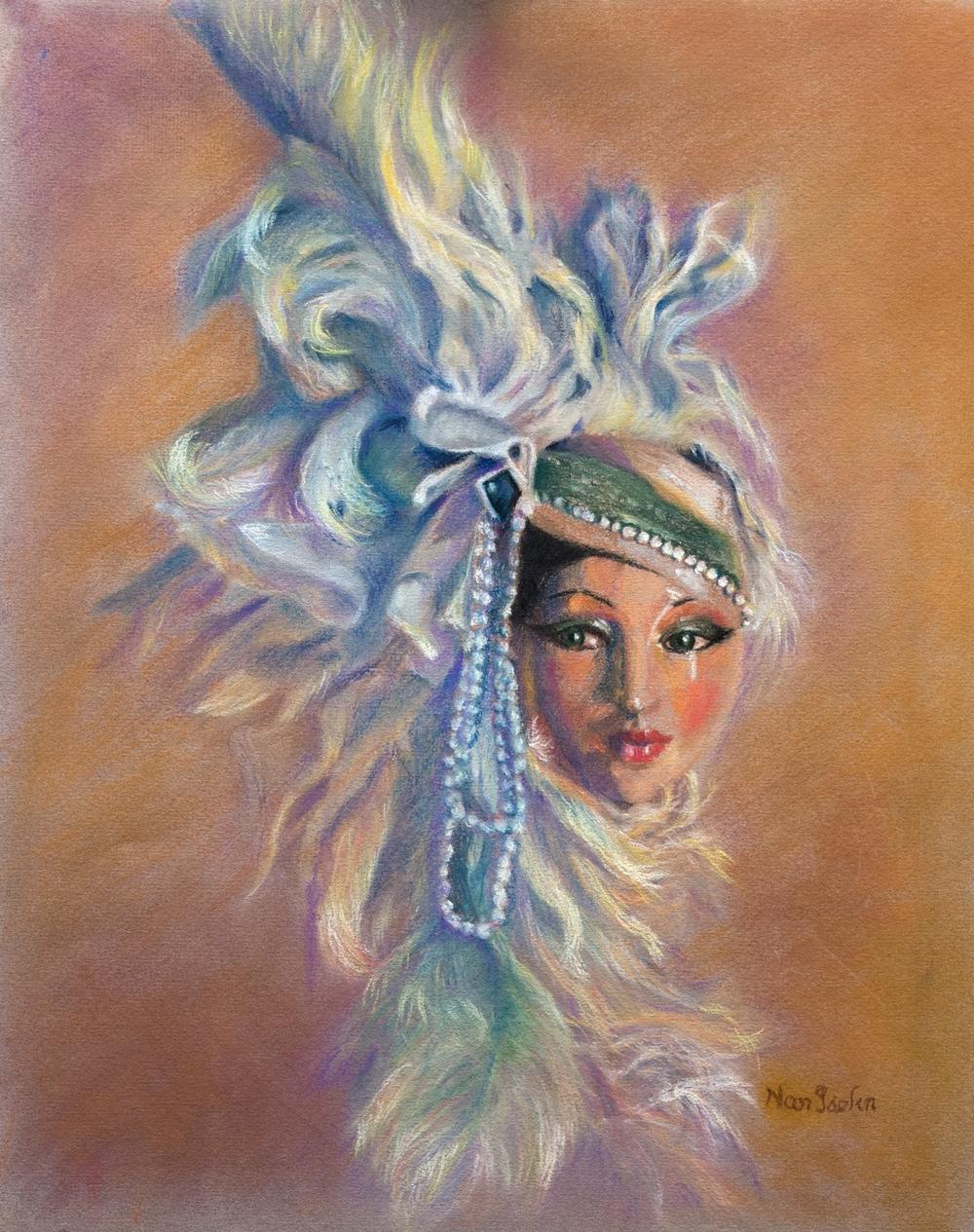 Ivory Porcelain Doll