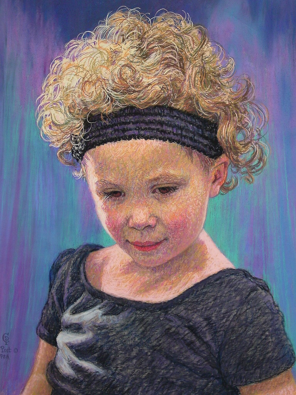 Portrait of Falyn with Headband
