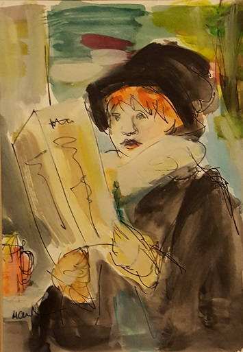 The Illustrated Journal (after Manet)