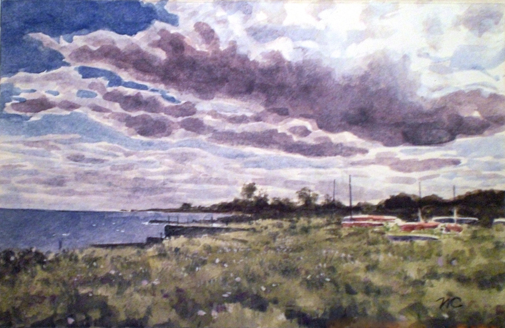 Cloudy Shore