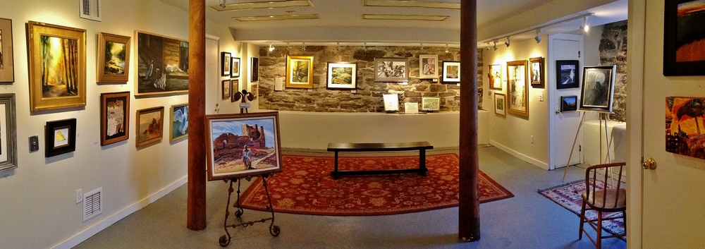 Stone Gallery Rental for Artists -