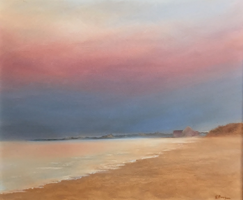 "Elba Borges ""Dawn on the Shores of Rhode Island"""