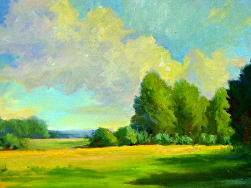 "Linda Lilling's ""Afternoon Shadows"""