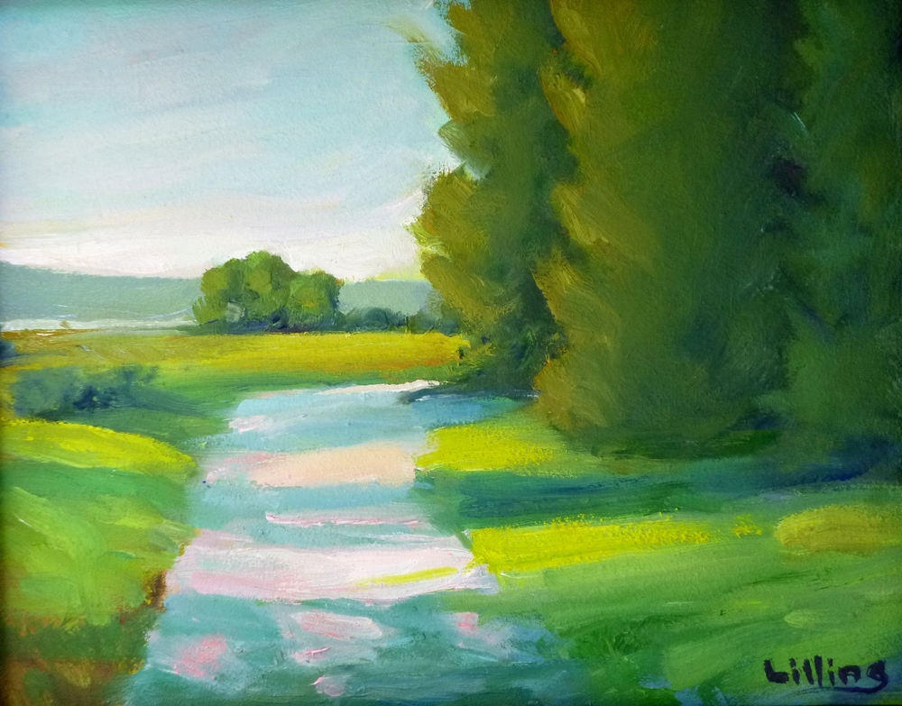 "Linda Lilling's ""Path Towards the River"""