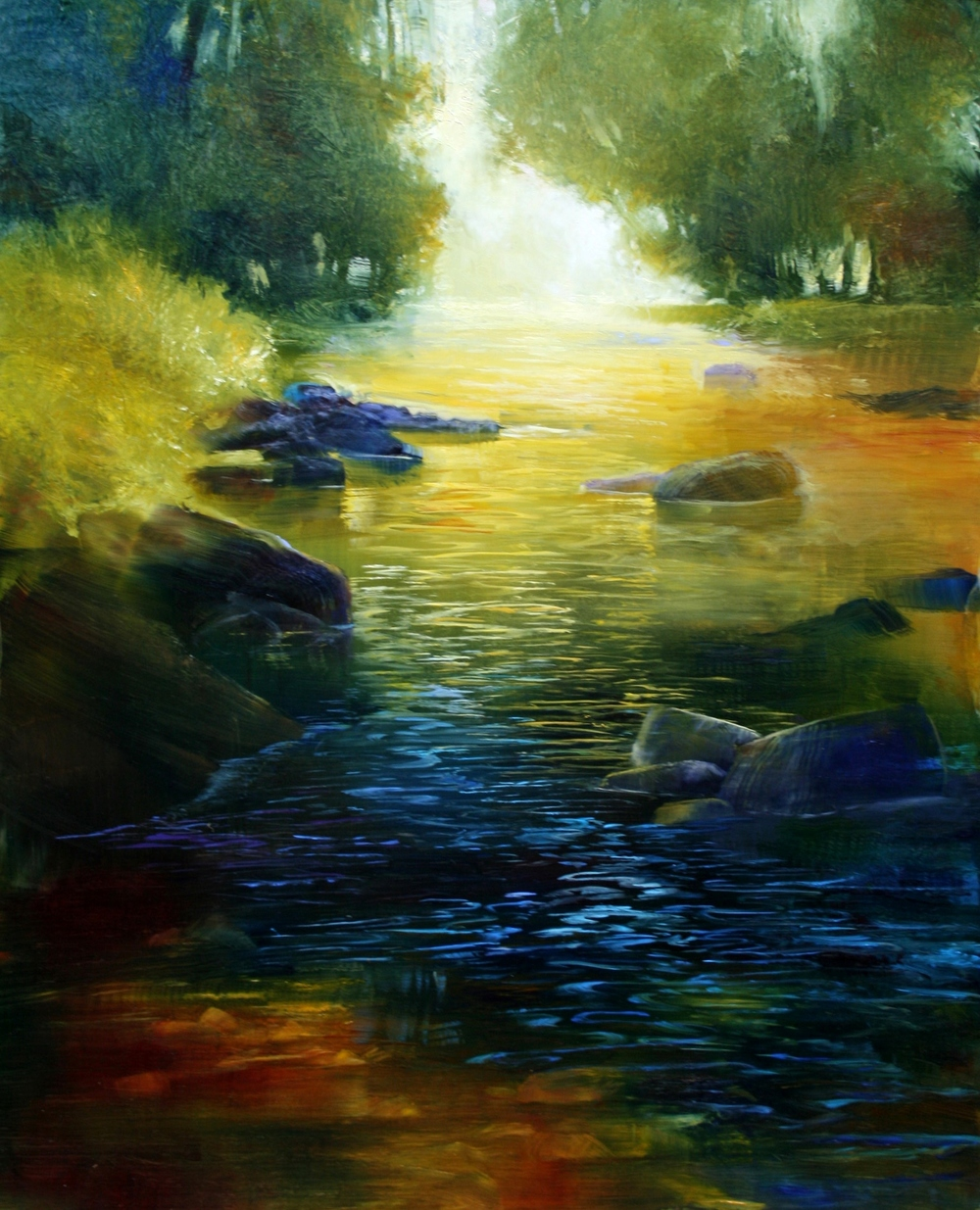 "Janine Robertson's ""River Reflections"""