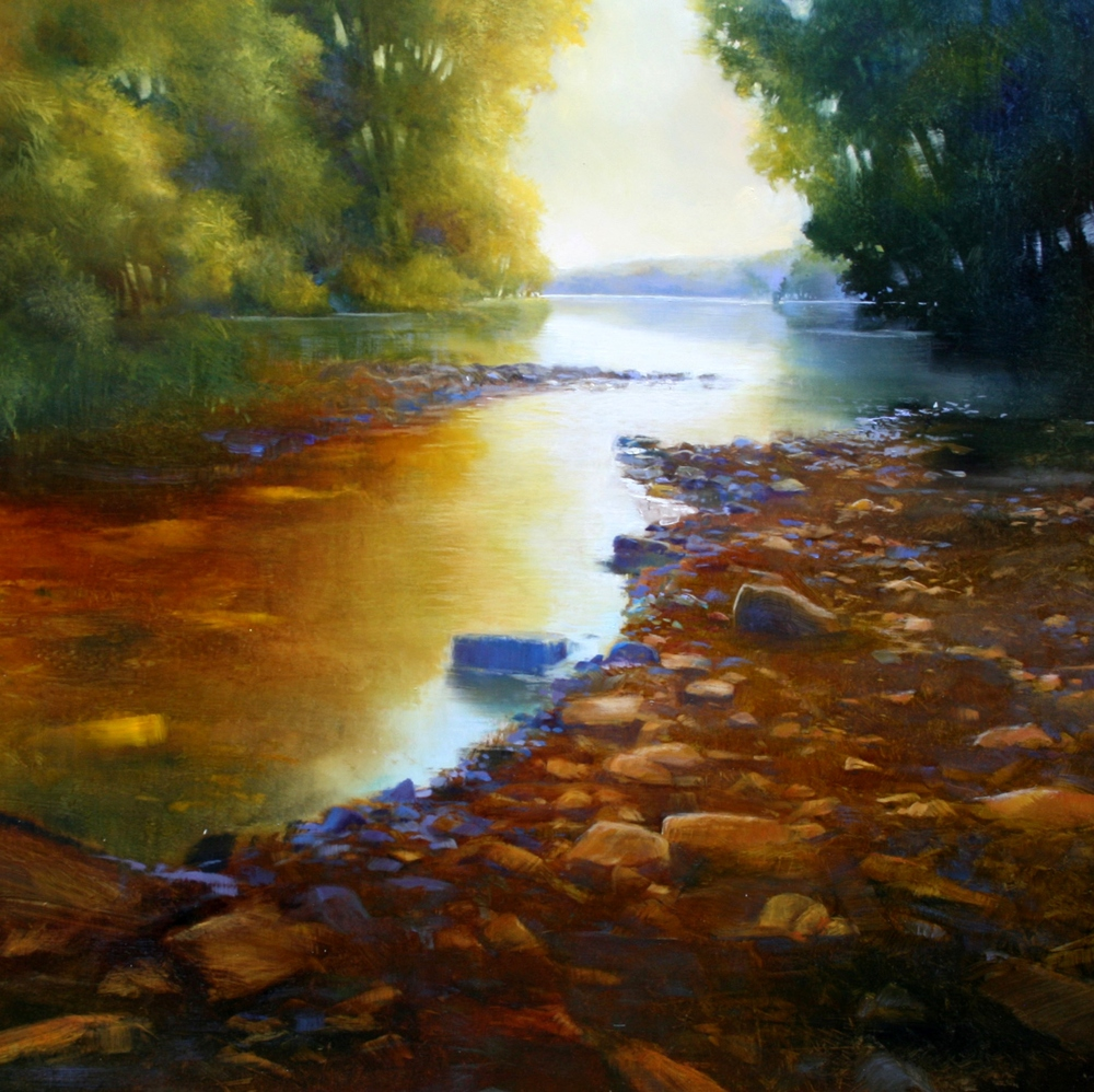 "Janine Robertson's ""River's Edge"""