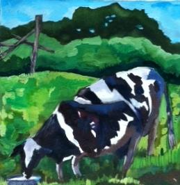 "Claudia Van Nes's ""Two Cows"""