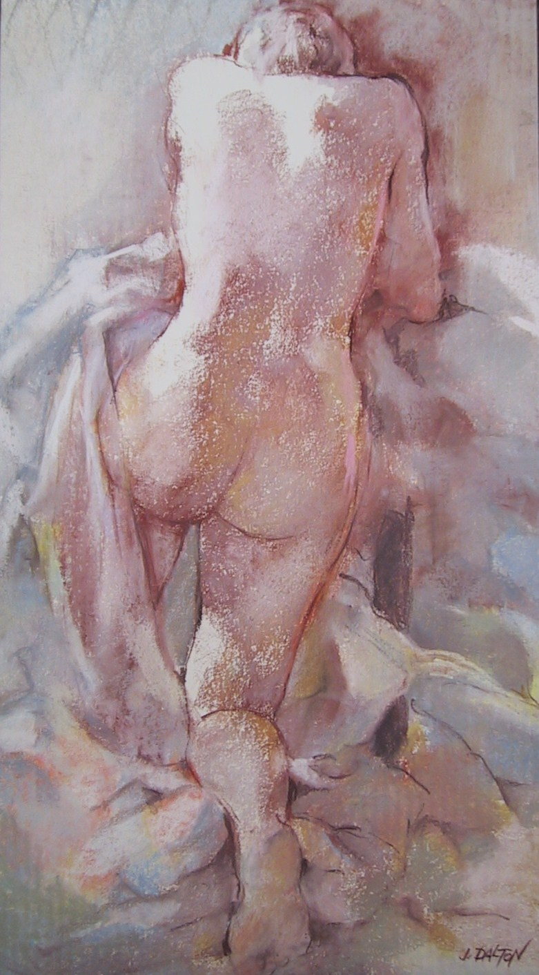 """Kneeling Nude"" please contact gallery for size and price"