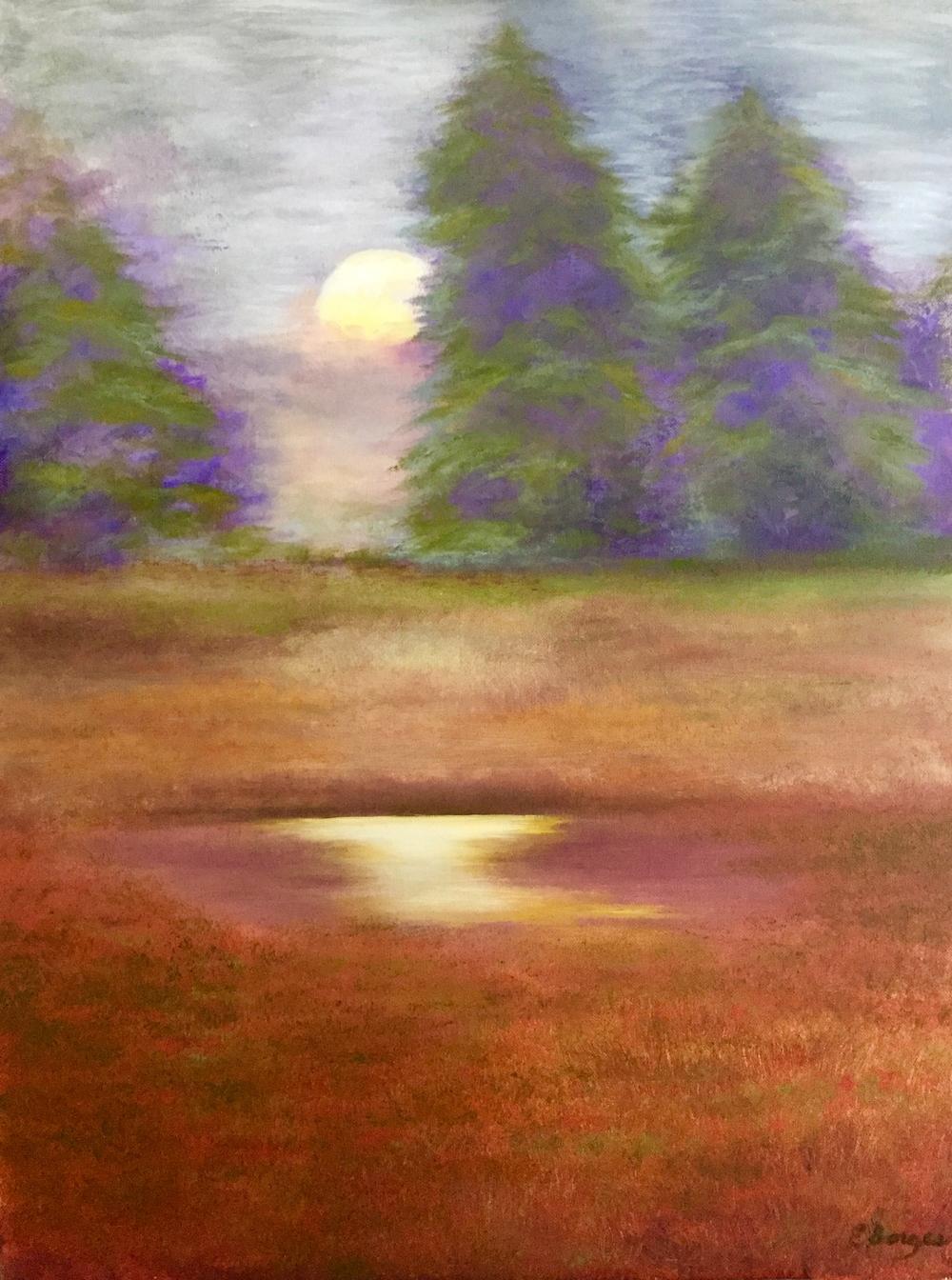 """Elba Borges """"Moonstruck"""""""