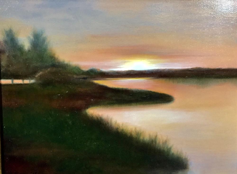 "Elba Borges ""Sunset Glow"""