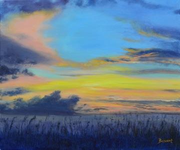 "Linda DeStefanis's ""Sky Fire"""