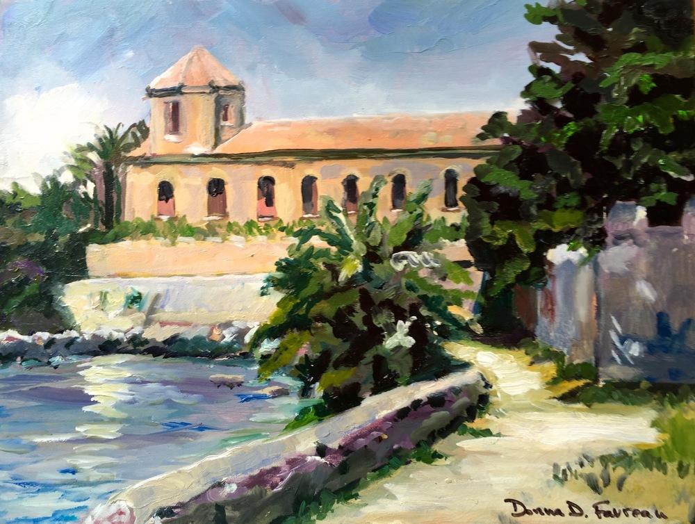 """Donna Favreau's """"The Chapel de Lerins"""""""