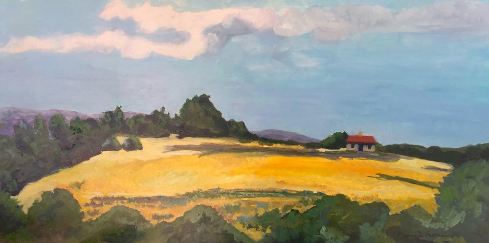 "Donna Favreau's ""The Mustard Field"""