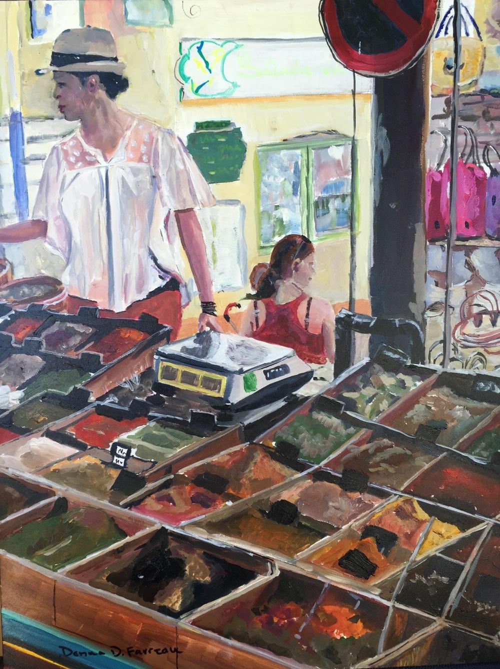 "Donna Favreau's ""The Spice Market"""