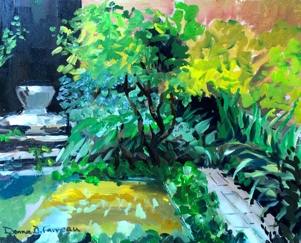 "Donna Favreau's ""Frog Pond Plein Air"""