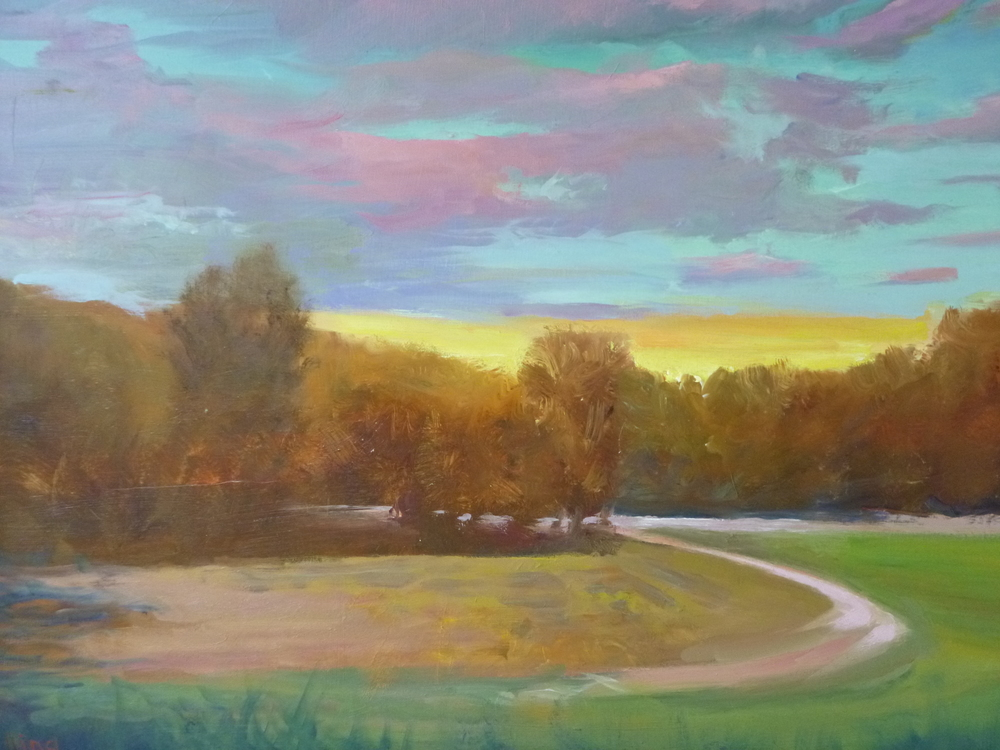 "Linda Lilling's ""Evening II"""